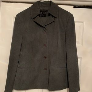 The Limited Gray Blazer Large